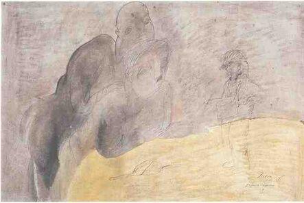 Jose Luis Cuevas, 'Graciana de Barrenechea', 1983