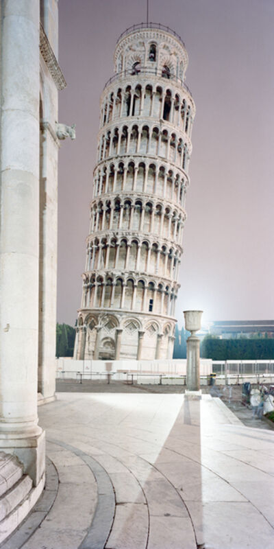 Olivo Barbieri, 'La Torre, Pisa', 1992