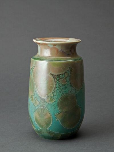 Hongwei Li, 'Gourd vase, traced ink splash glaze', ca. 2016
