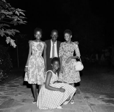 Malick Sidibé, 'Soirée des Aristos, Bamako', 1963