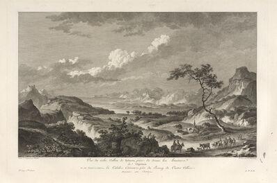 Jean Claude Richard de Saint-Non (author), 'Vu‰ du Vallon de Sybaris', 1781