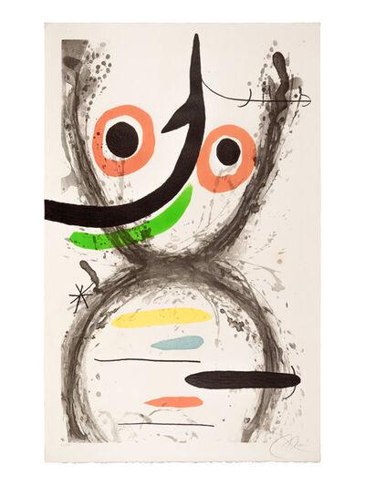 Joan Miró, 'Prise à l'hameçon', 1969