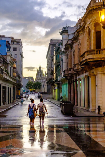 Norman Borden, 'Schooltime, Havana', .