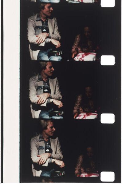 Jonas Mekas, 'Andy Warhol at Tina Radziwill's birthday party, 1972, Montauk', 2013