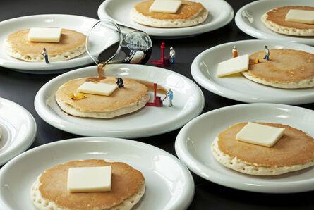 Christopher Boffoli, 'Pancake Production Crew', 2013