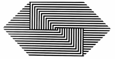 George E. Russell, 'Interlocking Lines', 1973