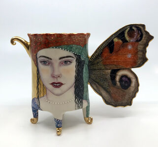 Irina S. Zaytceva, 'Peacock Butterfly Cup', 2021