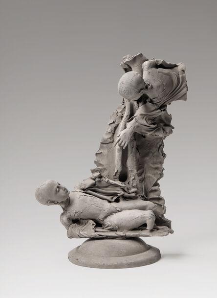 Georges Jeanclos, 'Jacob et l'ange', 1993