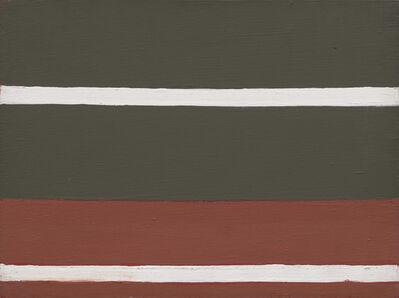Raoul De Keyser, 'Crimson', 1971