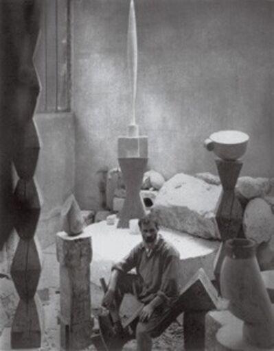 Edward Steichen, 'Brancusi in his studio, Paris', 1925