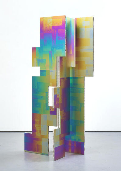 Mark Hagen, 'A parliament of some things (Additive and Subtractive Sculpture, Titanium Screen, Panels 6, 7, 8)', 2014