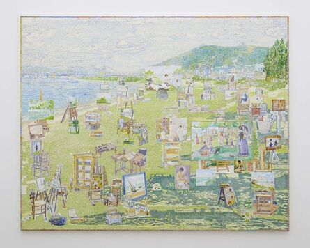 Toru Kuwakubo, 'Georges Seurat's Studio', 2018