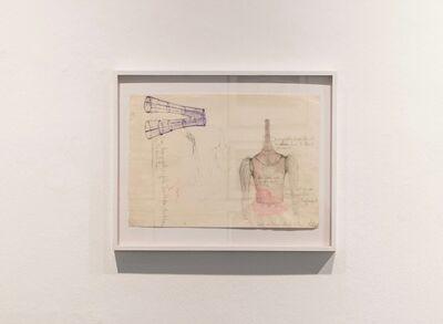 Ulrike Rosenbach, 'Objektzeichnung 1', 1968