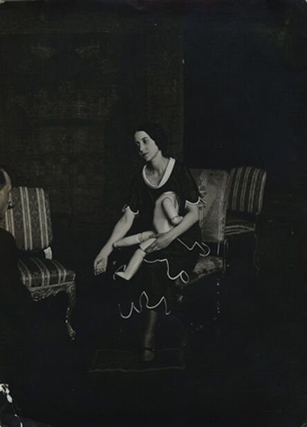 Man Ray, 'Lisa Deharme & Marcel Duchamp, Paris', ca. 1937