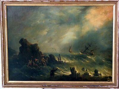Ivan Konstantinovich Aivazovsky, 'Storm on Turkish Coast', 1858