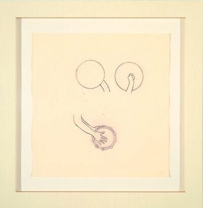 Robert Therrien, 'No title (Purple hand with tambourines)', 2000