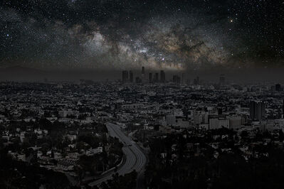 Thierry Cohen, 'Los Angeles 34 06' 58'' N 2012-06-15 lst 14:52', 2012