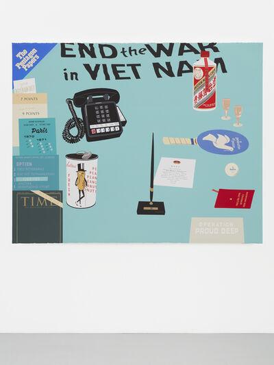 Matthew Brannon, 'Concerning Vietnam: Oval Office, March 1972', 2017