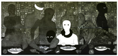 Belkis Ayón, 'La cena (The Supper)', 1991