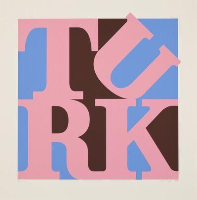 Gavin Turk, 'Turk Love Pink', 2009
