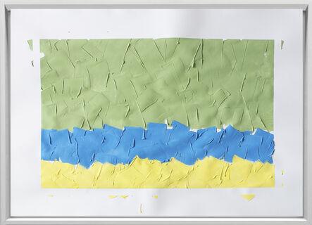 Rodrigo González Castellanos, 'Desgaste de la psicología del color, Esperanza', 2020