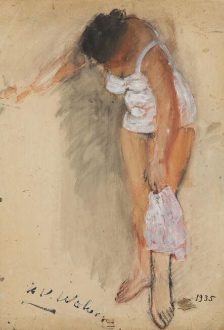 Henri-Victor Wolvens, 'Femme à sa toilette', 1935