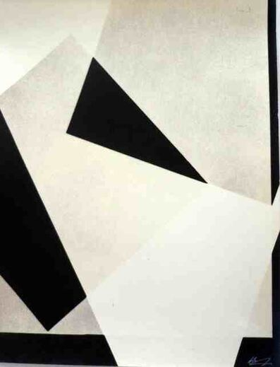 Romulo Aguerre, 'Geometria y composicion', 1954
