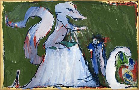 Pierre Alechinsky, 'Volcan des familles', 1973