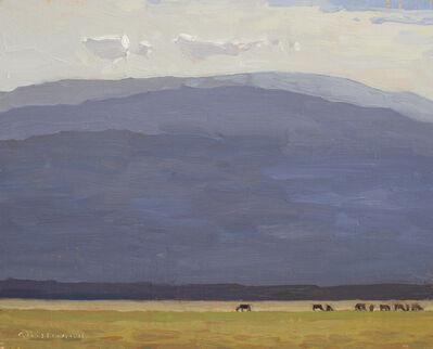 "David Grossmann, '""Mountain Morning Pasture""', 2018"
