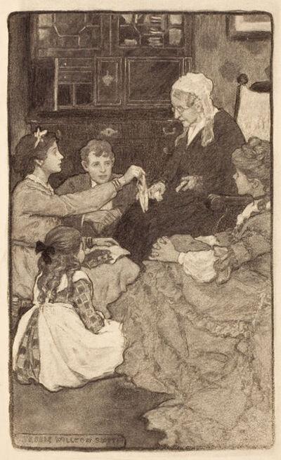 JESSIE WILLCOX SMITH, 'Alcott's Old Fashioned Girl', 20th Century