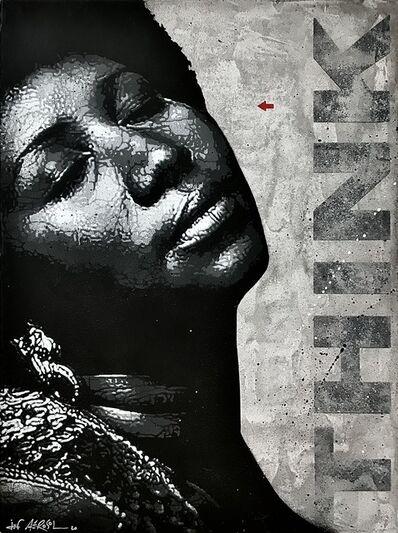 Jef Aérosol, 'Aretha Franklin', 2021