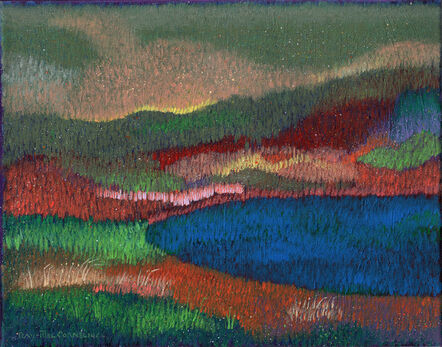 Ray-Mel Cornelius, 'Meadow with Shadow', 2020