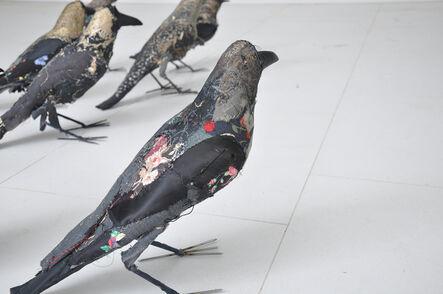 Ruby Chishti, 'Crows', ca. N/A