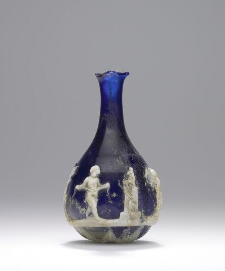 'Cameo Glass Flask',  25 B.C. -A.D. 25