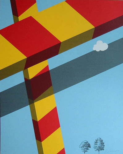Allan D'Arcangelo, 'Untitled', 1968