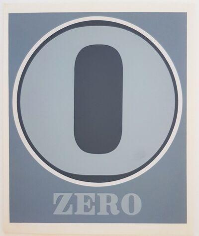 """Robert Indiana, 'Numbers Suite: """"Zero""""', 1968"""