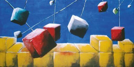 Andreas Schulze (b. 1955), 'untitled (Würfel)', 1982