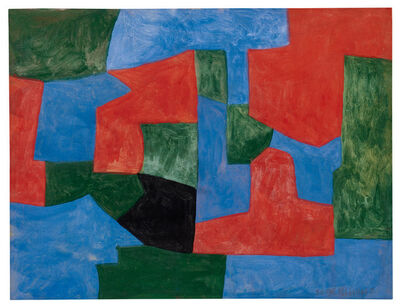 Serge Poliakoff, '»Composition abstraite«', 1959