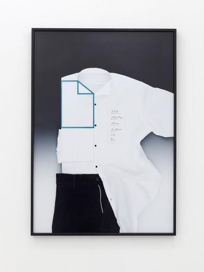 Natalie Czech, 'Paperdraft', 2015