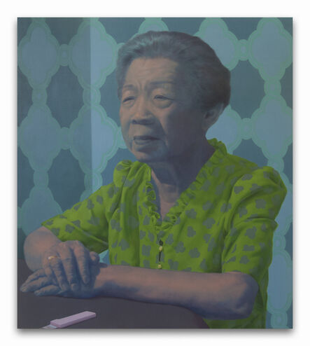 shanghai kevin yu, 'Grandma at the Table', 2015