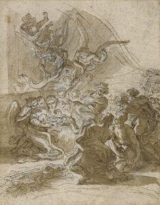 Giovanni Battista Gaulli, called Baciccio, 'Adoration of the Shepherds', 1672