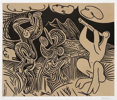 Pablo Picasso, 'Danseurs et musicien (Dancers and musician), 1959', 1959