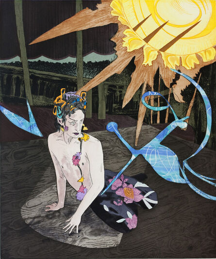 Hernan Bas, 'Comus in a Drunken Stupor', 2013