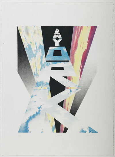 Erik Bulatov, 'New York', 1989
