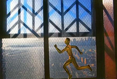 Robert Funk, 'Bronze Runner Brooklyn Heights', 1975