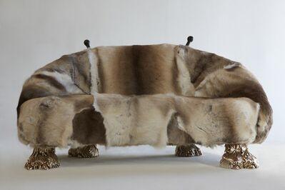 "Haas Brothers, '""Beast"" settee', 2013"