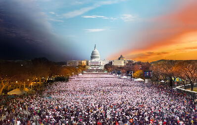Stephen Wilkes, 'Presidential Inauguration, Washington D.C., Day to Night', 2013