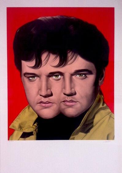 Ron English, 'Red Elvis', 2012