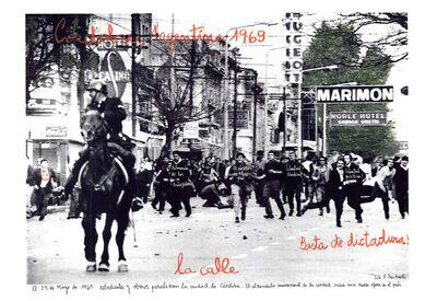 """Marcelo Brodsky, 'From the series """"1968's"""", Cordobazo 1969', 2014"""