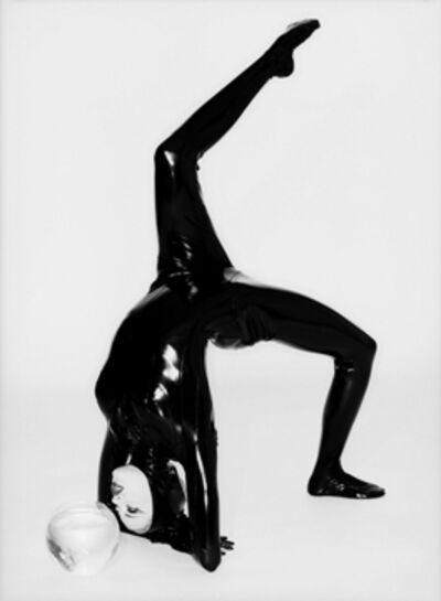 Ellen von Unwerth, 'Cat and Fish: Estella Warren', 1995